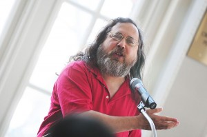 Richard rms Stallman at Runan!